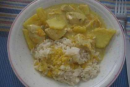 Hähnchen-Ananas-Curry (Rezept mit Bild) von graeflein | Chefkoch.de