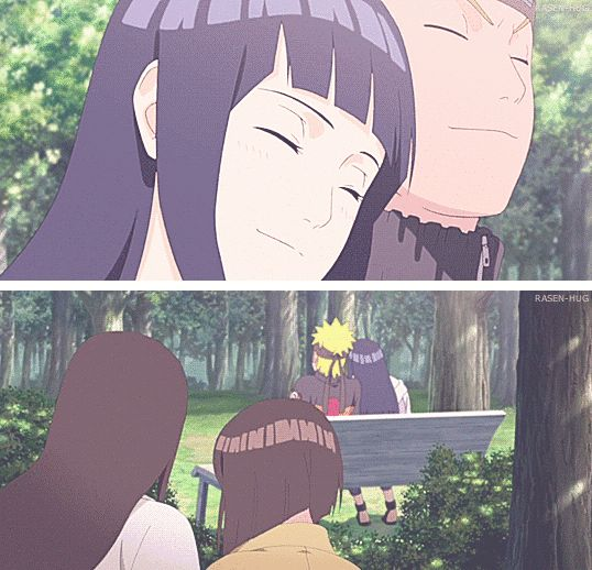 "Hinata's dream back in Shippuden. I love this because it became a reality for her; a.k.a ""the Last"""