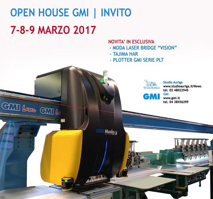 Ti invitiamo a scoprire le novità sulle macchine per la decorazione industriale Tajima & GMI. Dal 7 Marzo a Treviso. Info https://studioauriga.blog/2017/02/21/aurifil-duzey-paillettes/ #ricamo #lasercut #pelletteria #tagliolaser #tajima #GMI