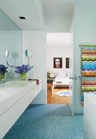 Modern Bathroom By Kallos Turin Via Architectural Digest