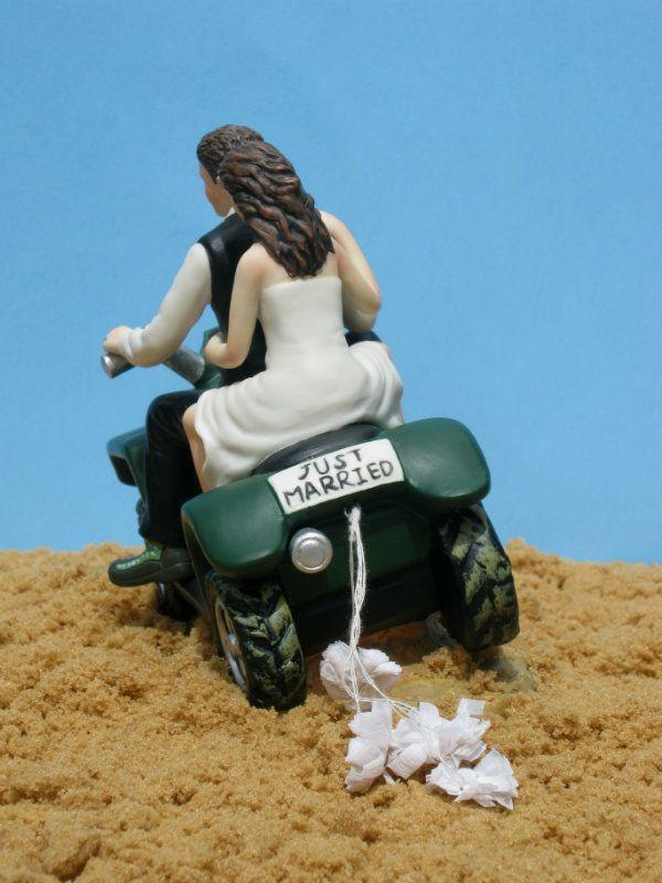 Quad ATV Wedding Cake Topper