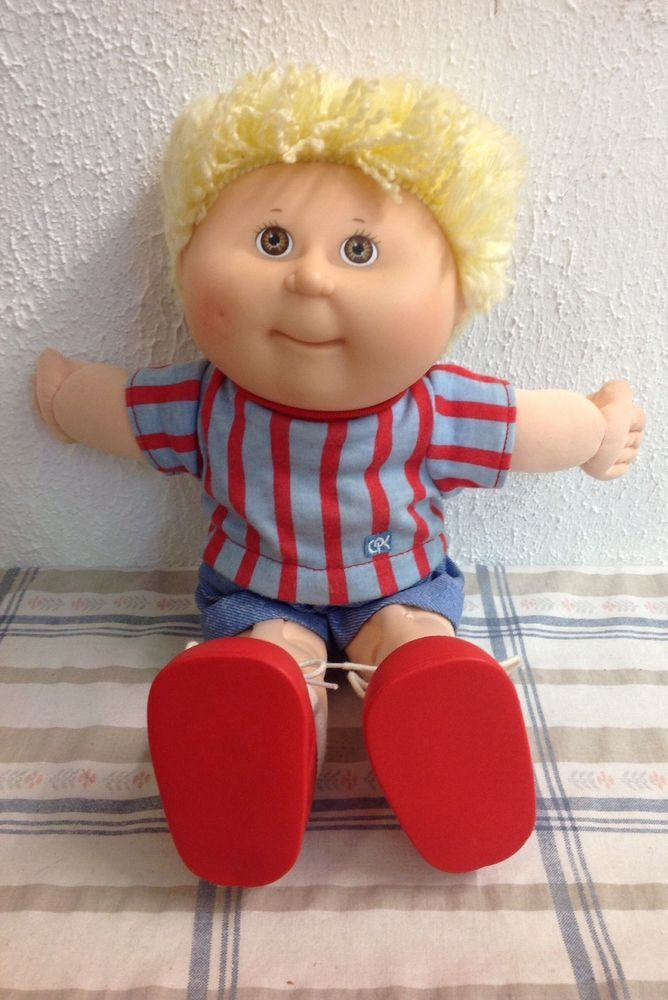 Cabbage Patch Kid Boy First Edition 1990 by Hasbro