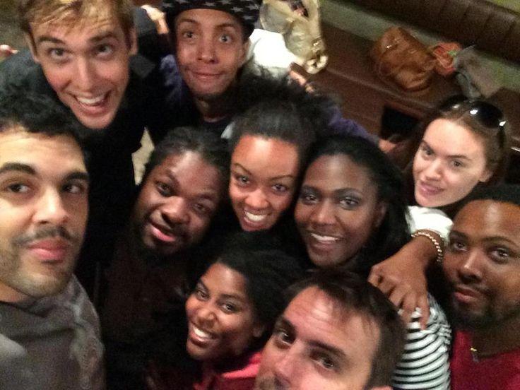 Cast & Crew on Ashley Denise Robinson's last day!