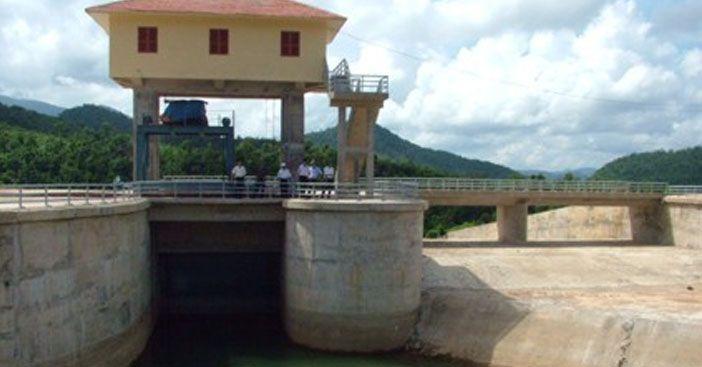 Xả tràn hồ chứa nước Kim Sơn và Tàu Voi tại Hà Tĩnh