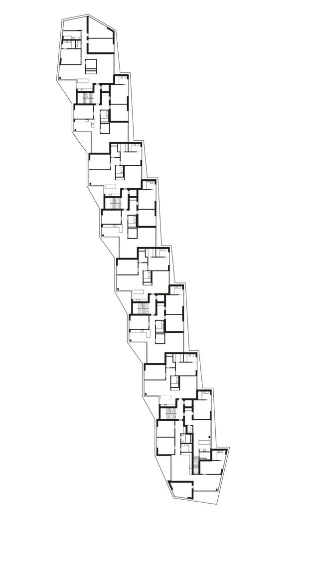 a f a s i a: Morger + Dettli Architekten #appartementen