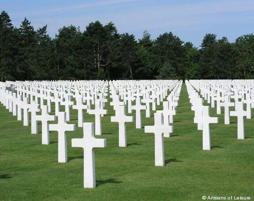 le Cimetière Américain en Normandie ... absolument incroyable