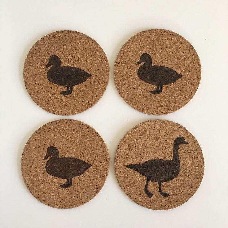 Duck, Duck, Duck, Goose Coasters by HuckleberryHaven on Etsy https://www.etsy.com/ca/listing/292093969/duck-duck-duck-goose-coasters