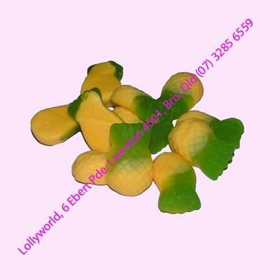 Allens Pineapple Lollies