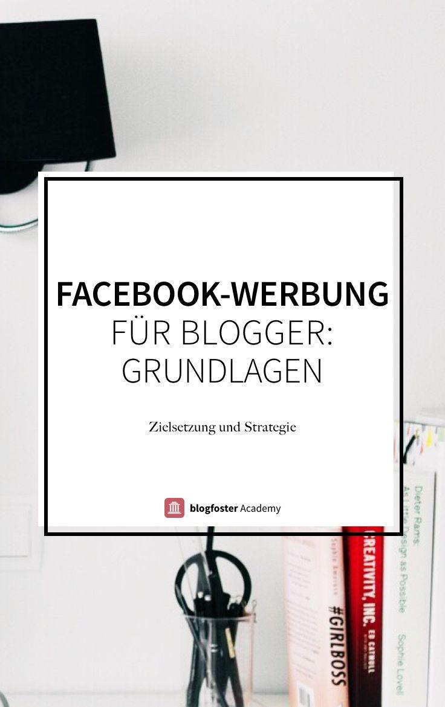 Finde heraus, wie Facebook-Werbeanzeigen funktionieren und welche Möglichkeiten es für Dich als Blogger gibt.