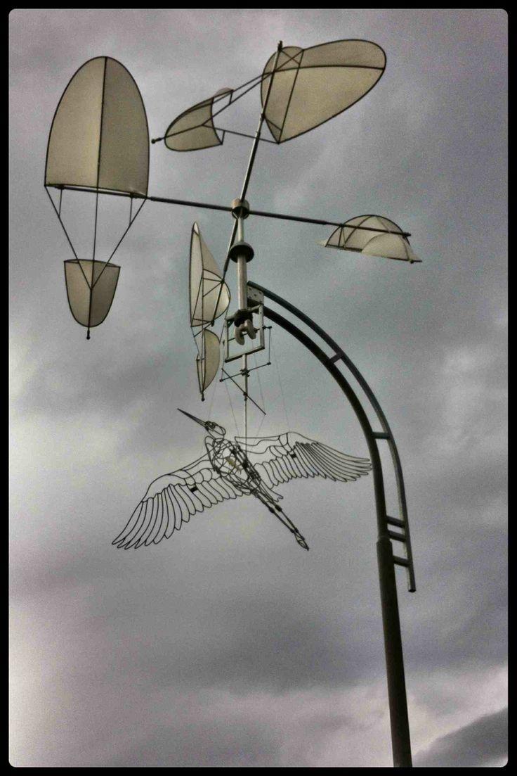Heron Mobile on the False Creek Seawall. #Vancouver #GeorgeWainbornPark