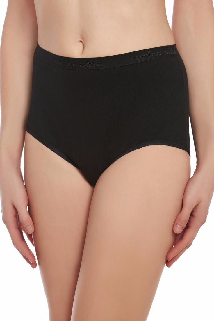 Women's Panty Briefs - 3 Pack Panties Soft Cotton Underwear - By Comfort Within  FLEXIBLE FIT: Our cotton panty briefs are designed for maximum stretch providing you with a perfect fit that hugs gives exceptional coverage & flatters your body for the perfect silhouette. SOFT & BREATHABLE FABRIC: Our briefs are made with 100% premium Pima cotton from Peru for superior look fit and feel. Stay cool and dry in these comfortable non-irritating panties. AVAILABLE IN MANY SIZES: We believe that…
