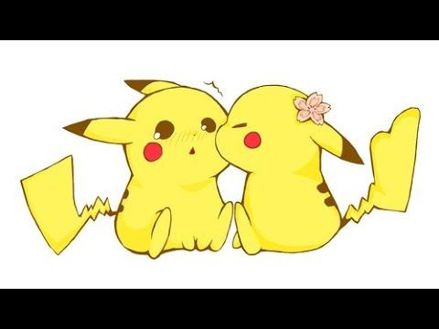 cute pikachu pokemon images images of love yellow art drawing art anime art chibi kissing google search