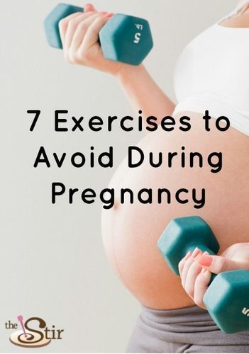 Stop Doing These Exercises If You're Pregnant