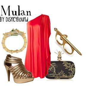 Mulan - Disneybound: look it up! these disney inspired outfits are SO CUTE!
