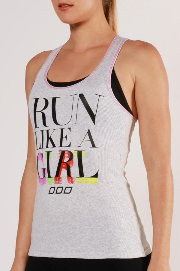 Run Like A Girl Tank