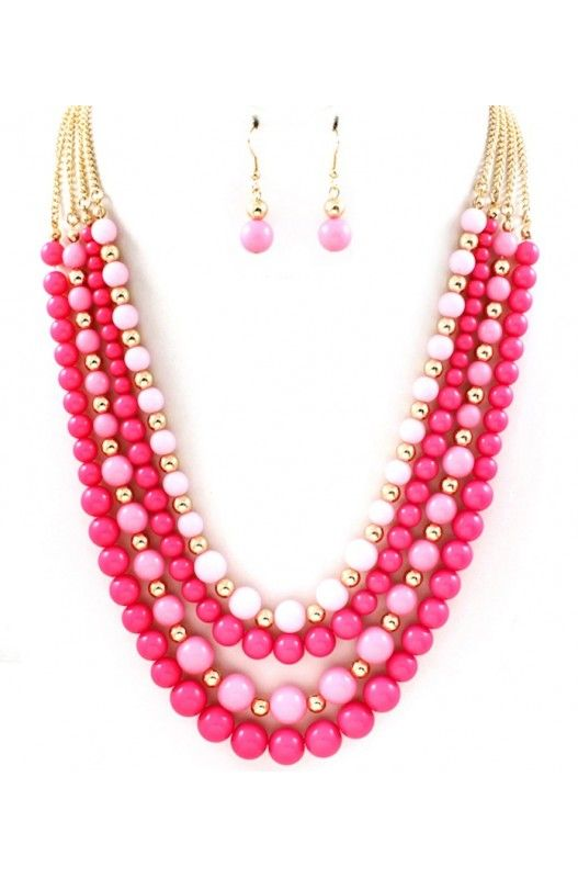 """Charlotte"" Necklace Earring Set-  Limited Item In Stock! Available at 50% Discount. Shop Now!"