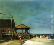 At Far Rockaway  by Robert Henri