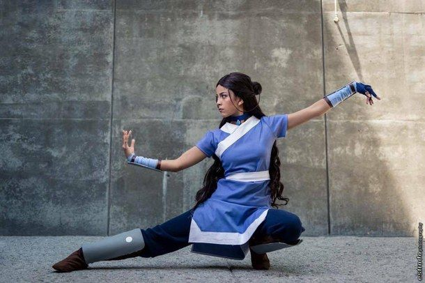 avatar, clothes, cosplay, costume, diy, katara, anime