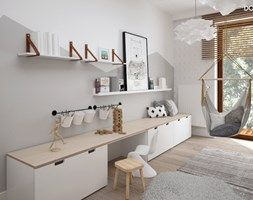 Scandinavian style child's room - from the image demanded Design