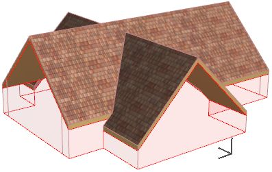 Cross-Gable Roof | Help Center | ArchiCAD, BIMx, BIM Server knowledge base from GRAPHISOFT
