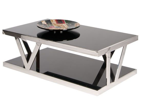 Berden Coffee Table   Dania Love The Reflective Surfaces