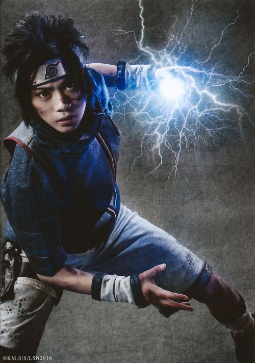 Ryuji Sato as Sasuke Uchiha Live Spectacle Naruto - 2016