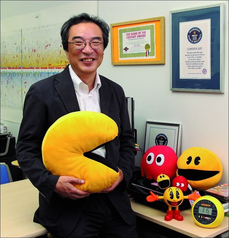 Toru Iwatani, Pac-Man creator