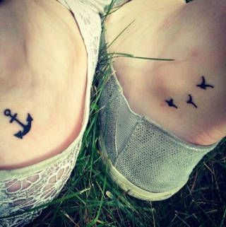 """""""You be the anchor that keeps my feet on the ground, I'll be the wings that keep your heart in the clouds"""" (Source)"""