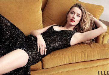 Amber Heard photoshoot for Elle wallpaper