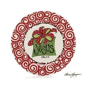 Hand-painted Ceramic Plate  sc 1 st  Pinterest & 26 best ceramics images on Pinterest | Christmas dishes Ceramic ...