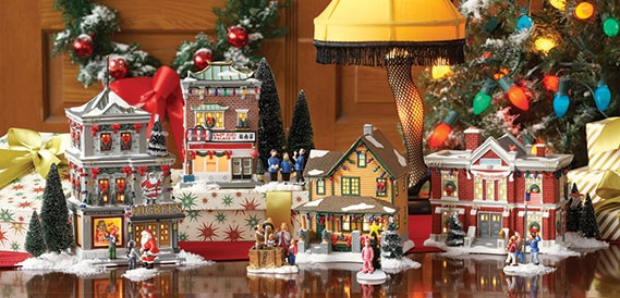 'Department 56 A Christmas Story' Christmas village
