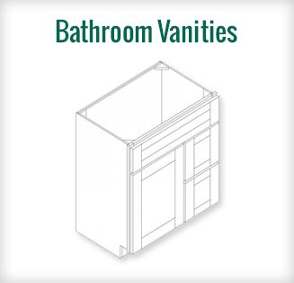 Web Photo Gallery White Shaker Elite RTA Bathroom Vanities free Shipping above order