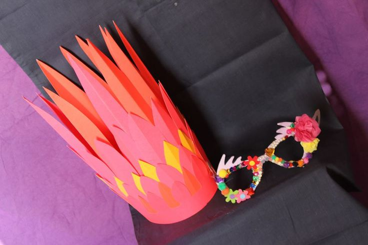 Here are some fab photo booth props made by some talented hens
