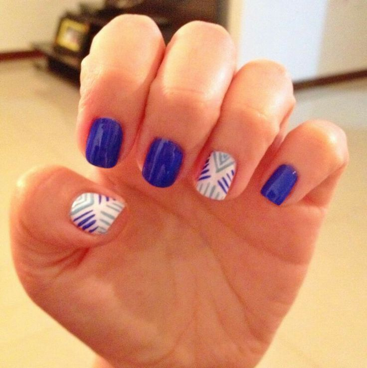 Azul #nails #inspiration