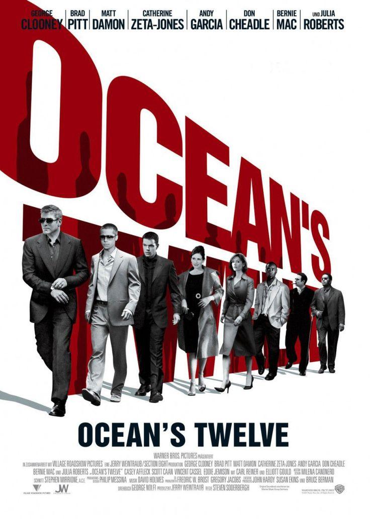 Ocean's Twelve (2004): Daniel Ocean recruits one more team member so he can pull off three major European heists in this sequel to Ocean's 11 #movie