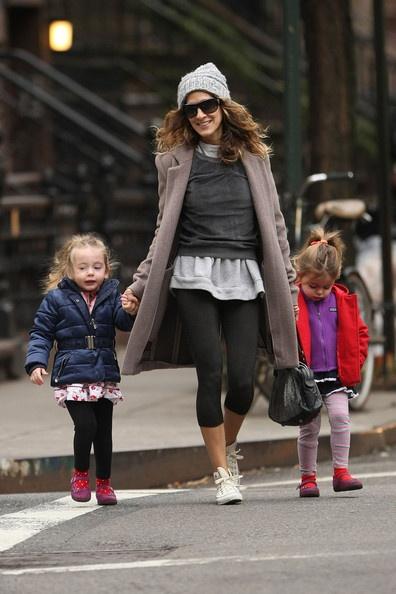 Sarah Jessica Parker Photo - Sarah Jessica Parker Walks With the Kids