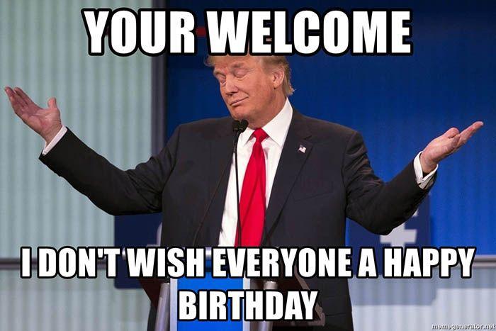 Pin On Funny Trump Birthday