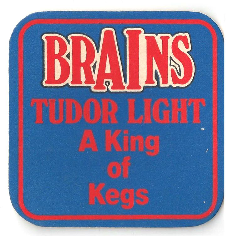 Brains Vintage Beer Mat