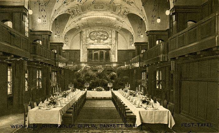 weinhaus rheingold berlin 1916 architecture design und berlin