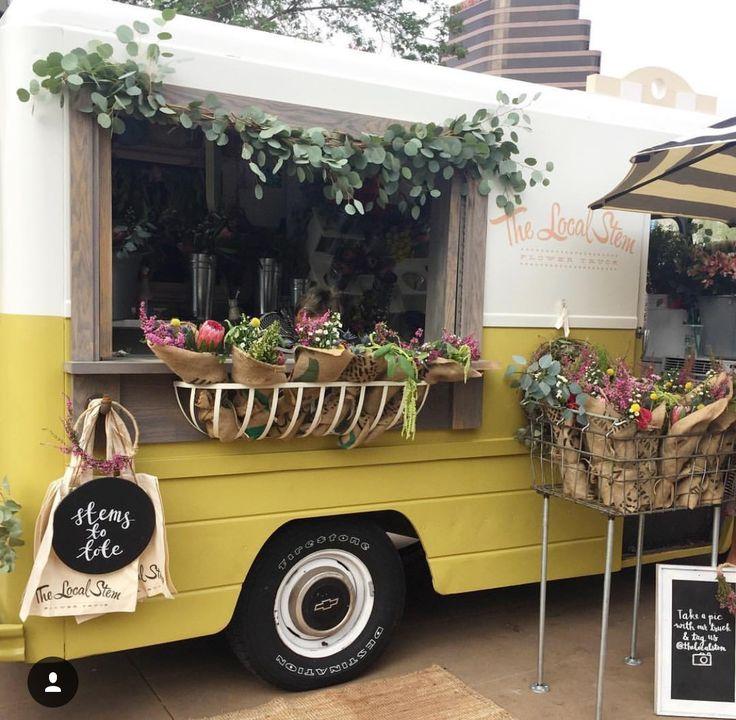 The Local Stem Flower Truck