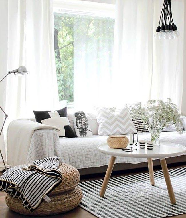Cores neutras, estilo básico, minimalista e moderno com uma pitadinha de cor e…