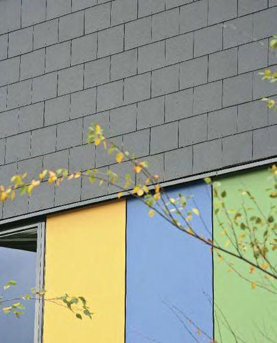 Fiber-cement roof tile THRUTONE Marley Eternit