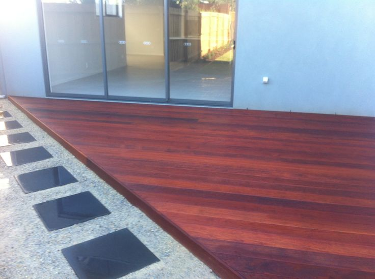 Garden Ideas Decking And Paving merbau deck with paving | landscapes | pinterest | decking
