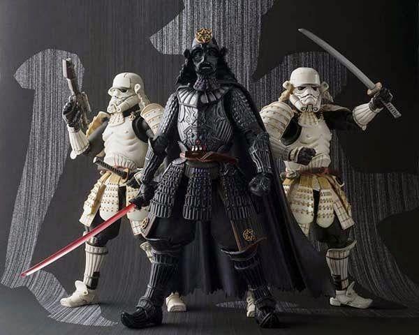 BLOG DOS BRINQUEDOS: Star Wars Samurai Taishou Stormtrooper Action Figu...