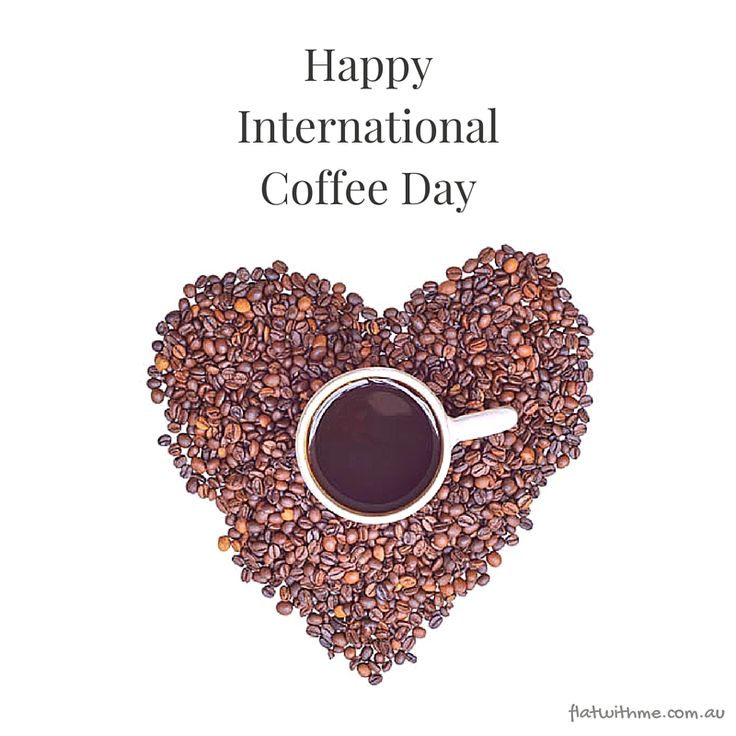 Celebrate International Coffee Day with your #flatmates