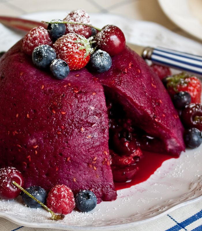 Get all the summer fruits inside this easy, make-ahead pudding. A little cassis wouldn't hurt either!