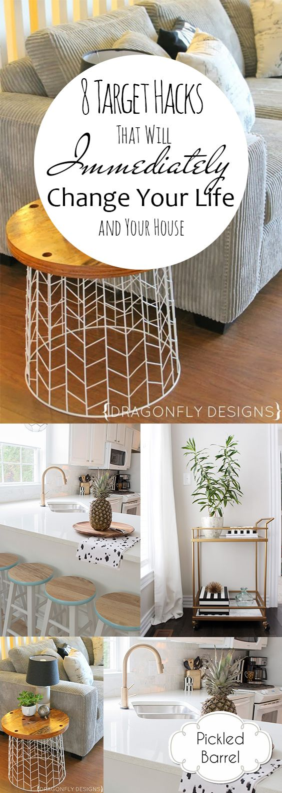 8 Target Hacks That Will Immediately Change Your Life and Your House| Target, Target Shopping Hacks, Shopping at Target, Save Money at Target, Target DIY Projects, Fun Target DIY Projects, Popular Pin