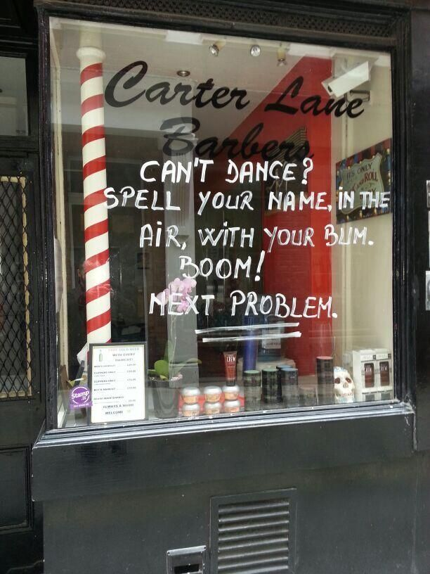 problem solving with carter lane barbers.