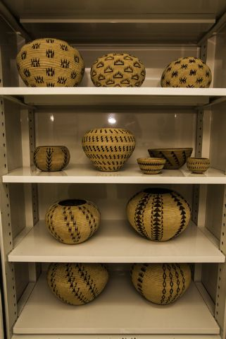 Before she died in December 1925, the Washoe Indian basket maker called Dat So La Lee insisted that she should be buried with one of her baskets. #nv150