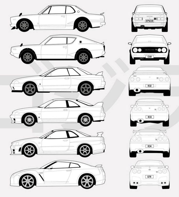 Nissan Skyline GT-R Evolution at its best!